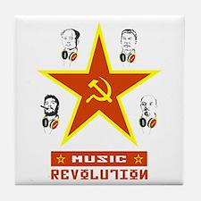 MUSIC REVOLUTION Tile Coaster