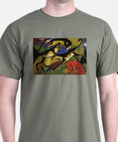 Franz Marc Playing Dogs T-Shirt