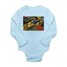 Franz Marc Playing Dogs Long Sleeve Infant Bodysui