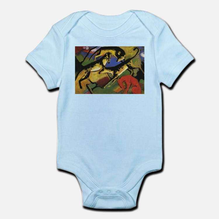 Franz Marc Playing Dogs Infant Bodysuit