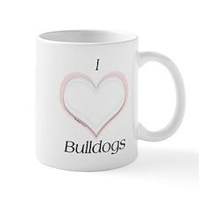 Bulldog Heart Mug