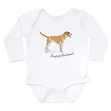 English Foxhound Long Sleeve Infant Bodysuit