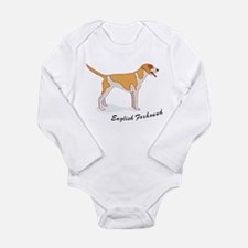 English Foxhound Long Sleeve Infant Bodysuit