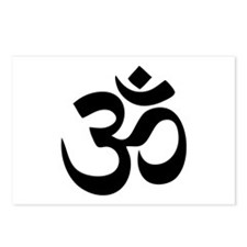 Om Aum Postcards (Package of 8)