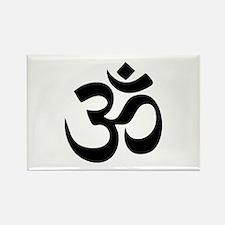 Om Aum Rectangle Magnet (100 pack)