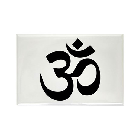 Om Aum Rectangle Magnet
