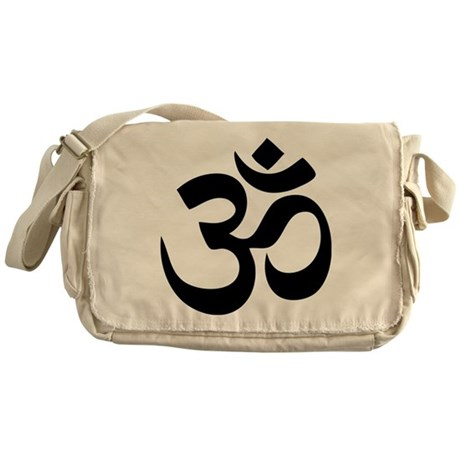 Om Aum Messenger Bag