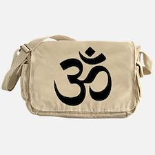 Om Aum Messenger Bag