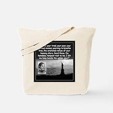Lazarus Liberty Quote 2 Tote Bag