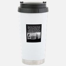 Lazarus Liberty Quote 2 Stainless Steel Travel Mug