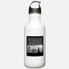 Lazarus Liberty Quote 2 Water Bottle