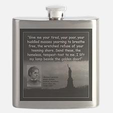 Lazarus Liberty Quote 2 Flask