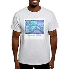 Alaska 1895 Ash Grey T-Shirt
