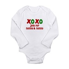 Cute Kiss Long Sleeve Infant Bodysuit