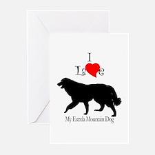 Estrela Mountain Dog Greeting Cards (Pk of 10)