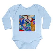 LaHalte Long Sleeve Infant Bodysuit