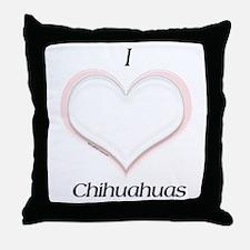 Chi Heart Throw Pillow
