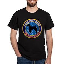 Kerry Blue Terrier Black T-Shirt