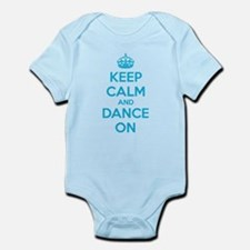Keep calm and dance on Infant Bodysuit
