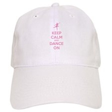 Keep calm and dance on Baseball Cap