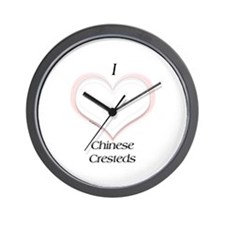 Crested Heart Wall Clock