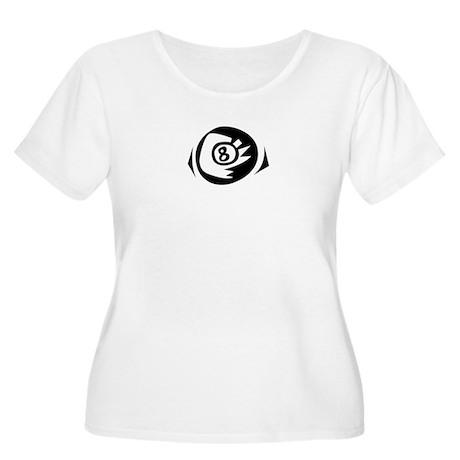 Pool Game Women's Plus Size Scoop Neck T-Shirt