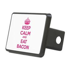 Keep calm and eat bacon Hitch Cover