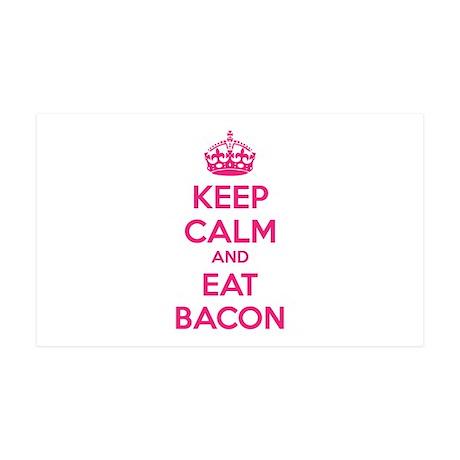 Keep calm and eat bacon 38.5 x 24.5 Wall Peel
