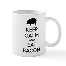 Keep calm and eat bacon Mug