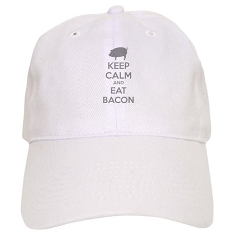 Keep calm and eat bacon Cap