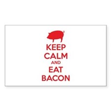 Keep calm and eat bacon Decal