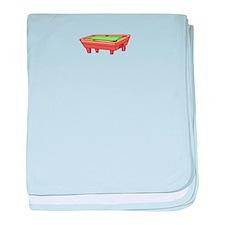 Pool Game baby blanket