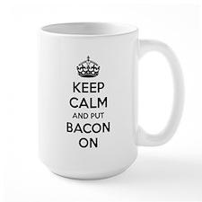 Keep calm and put bacon on Mug