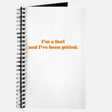 Pitied Fool Journal