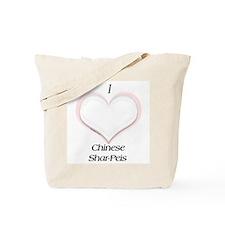 Shar Pei Heart Tote Bag