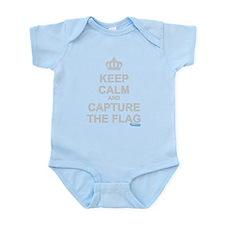 Keep Calm and Capture The Flag Onesie