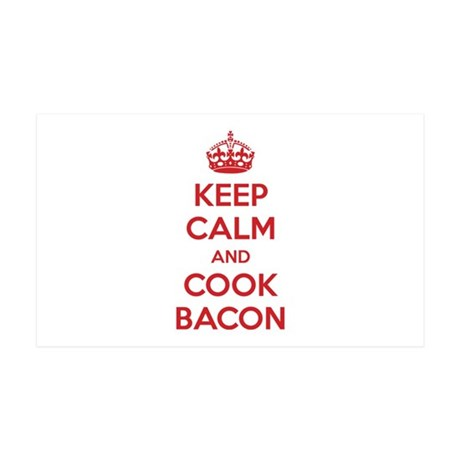 Keep calm and cook bacon 38.5 x 24.5 Wall Peel