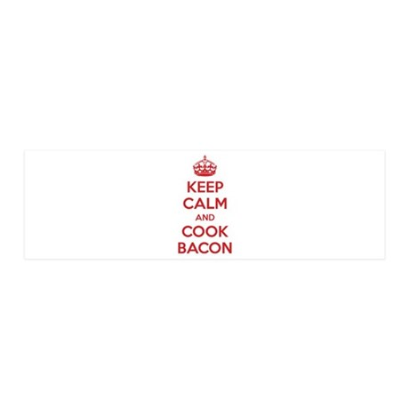 Keep calm and cook bacon 42x14 Wall Peel