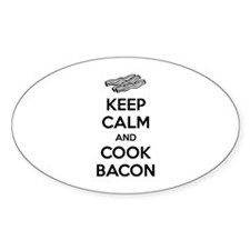 Keep calm and cook bacon Decal