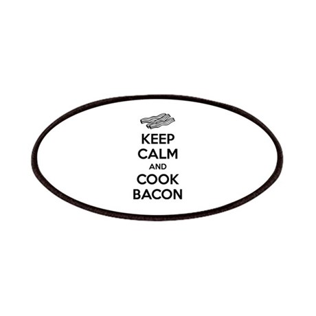 Keep calm and cook bacon Patches