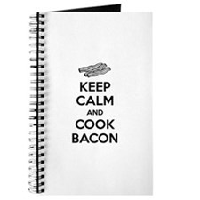 Keep calm and cook bacon Journal