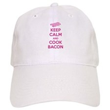 Keep calm and cook bacon Baseball Cap
