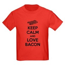 Keep calm and love bacon T