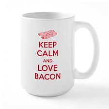 Keep calm and love bacon Mug