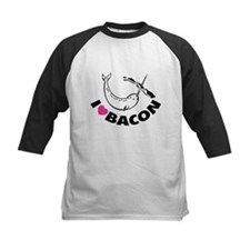 I love bacon narwhal Tee