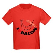 I love bacon narwhal T