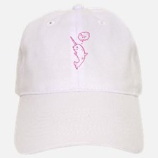 narwhal dreaming of unicorns Baseball Baseball Cap