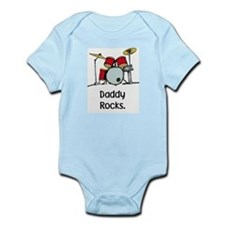 daddy rocks Body Suit