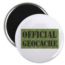 """Official Geocache 2.25"""" Magnet (10 pack)"""