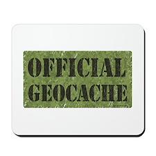 Official Geocache Mousepad